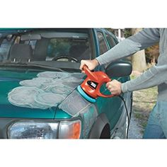 BLACK+DECKER Random Orbit Waxer/Polisher Highlights: 6 Inch-Orbital Action Random orbit action for a fast High quality finish Two handle for Car Buffer, 6 Inches, Outdoor Power Equipment, Boat, 3 Pounds, Hipster Party, Mini Vans, Appliance, Horticulture