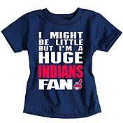 Cleveland Indians Infant Biggest Little Fan T-Shirt by Soft as a Grape - MLB.com Shop