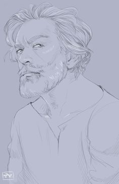 Timothy Omundson as Cain ||| Supernatural Fan Art by castielsscruff on Tumblr