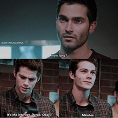 Teen Wolf. Stiles and Derek #teenwolf