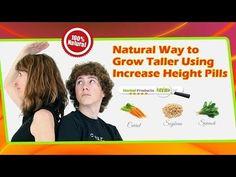 Natural Way to Grow Taller Using Increase Height Pills