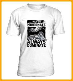 Dominate Tiger Wildcat Nature Animal - Tiger shirts (*Partner-Link)
