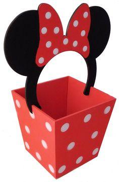 dulcero centro de mesa minie mickey mesa de dulces Minnie Y Mickey Mouse, Fiesta Mickey Mouse, Mickey Party, Mickey Mouse Clubhouse, Miki Mouse, Deco Disney, Art N Craft, Mickey Mouse Birthday, Mouse Parties
