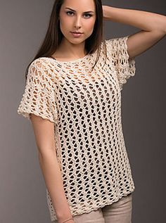 Net Lace Top pattern by NT Maglia
