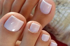 50 amazing toe nail colors to choose in 2019 003 – Nagellack, You can collect images you discovered organize them, add your own ideas to your collections and share with other people. Pretty Toe Nails, Pretty Toes, Beautiful Toes, Wedding Nails Design, Wedding Pedicure, Wedding Toe Nails, Wedding Toes, Polish Wedding, Natural Wedding Nails