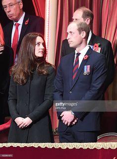 hrhduchesskate:  Festival of Remembrance, Royal Albert Hall, November 12, 2016-Duke and Duchess of Cambridge, Earl of Wessex