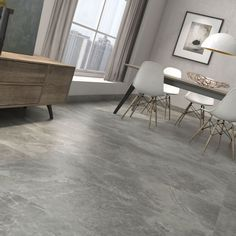 Large Format Arezzo Marengo Polished Porcelain Rectified Floor Tile
