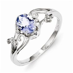 925 Sterling Silver Colored w/ White Gold Diamond and Tanzanite Oval Engagement Ring (.01 cttw.) (2mm)	by Sonia Jewels - See more at: http://blackdiamondgemstone.com/colored-diamonds/jewelry/wedding-anniversary/engagement-rings/925-sterling-silver-colored-w-white-gold-diamond-and-tanzanite-oval-engagement-ring-01-cttw-2mm-com/#sthash.RXeHrcdL.dpuf