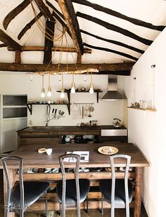 Modernised yet rugged & country Cafe Interior, Interior Design, Petite Kitchen, Cafe Concept, Traditional House, Korean Traditional, Sustainable Design, Vintage Kitchen, Decoration