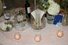 Vera&Matte Wedding  The Little Prince   bride&groom table setting up