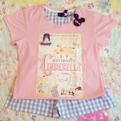 My new Cinderella pyjamas!