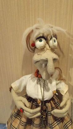 Сказочные персонажи ручной работы. Ярмарка Мастеров - ручная работа. Купить Баба Яга. Handmade. Баба яга, сувенирная кукла