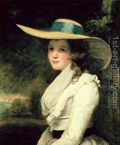 Lavinia Bingham, 2nd Countess Spencer Sir Joshua Reynolds | Oil Painting Reproduction | 1st-Art-Gallery.com