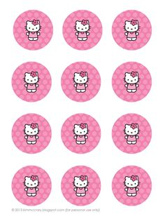 all things simple: simple celebrations: hello kitty party + printables