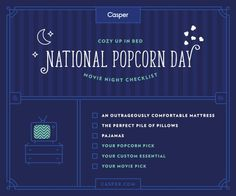 It's National Popcorn Day! What would you add to this list?