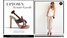 want those Proenza shoes in my life, also like the silk tank rolled up pjs
