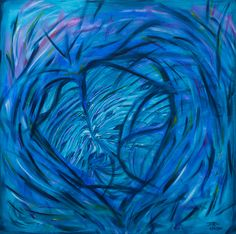 """The Source""  acrylics on Canvas"
