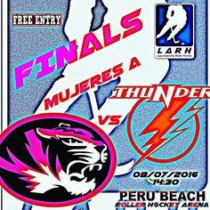 Final Mujeres A #LO2015 #CatM vs #ThunderNaranja viernes 8/7/2016 14:30hs @perubeachrollerhockeyarena #entradalibre #hockey http://ift.tt/29OoIy1 - http://ift.tt/1HQJd81