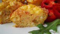 Sonkás sajtos tojásmuffin