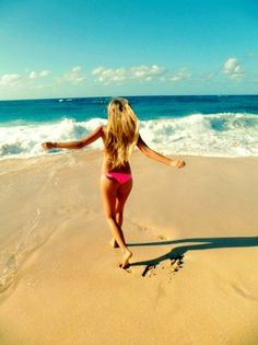 Let´s run to the ocean!