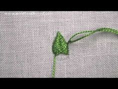 Raised Fishbone Stitch - YouTube