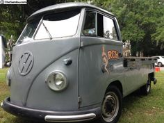 1963 T1 VW Bus single cab pickup (Gainesville, Florida, USA )