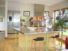 Ultra modern kitchen - sleek.