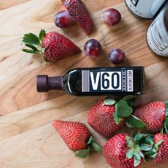 Strawberry Aged Dark Balsamic Vinegar