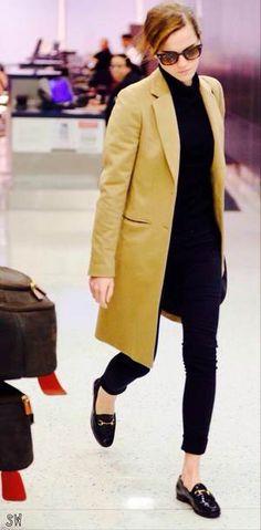 Emma Watson simple chic style