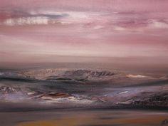 Olga dmytrenko artwork pink sunset original painting oil jpg 640x480