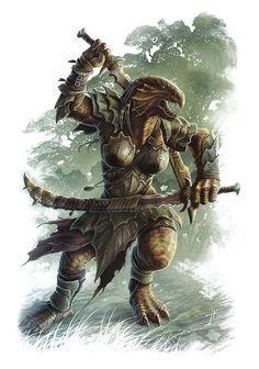 dragonborn monk - Google Search