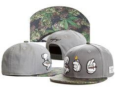 CAYLER&SONS Enjoy Snapbacks Hats Grey 203