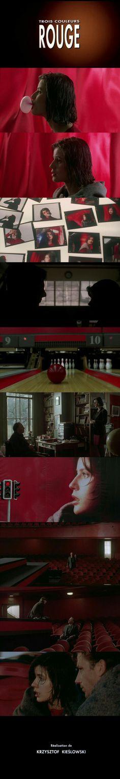 Three Colours: Red (1994) Directed by Krzysztof Kieślowski.