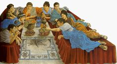 What do you know about the food of ancient Rome? Author Crystal King gives you all the details about ancient Roman cuisine. Ancient Roman Food, Ancient Rome, Ancient Greek, Ancient History, Roman Era, Roman City, Art Romain, Rome Antique, Ancient Recipes