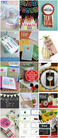 The BEST Back to School Printables - Our Thrifty Ideas