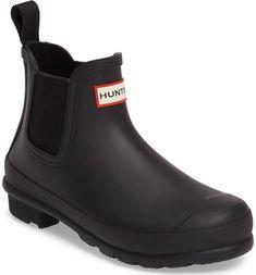 Main Image - Hunter 'Original' Waterproof Chelsea Rain Boot (Women)