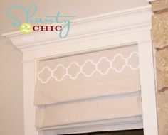 DIY Lined Roman Shades via www.Shanty-2-Chic with step by step instructions and photos!
