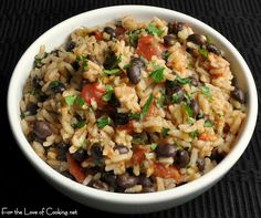 For the Love of Cooking » Mexican Tomato Rice and Beans