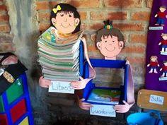 guarda libros Classroom Walls, School Classroom, Classroom Decor, Art School, Library Work, Library Skills, Library Design, Preschool Education, Preschool Activities