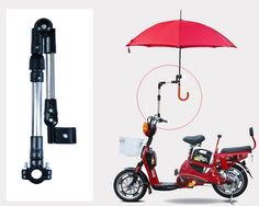 Bike Bicycle Wheelchair Stroller Connector Umbrella Holder Mount Stand | Alex NLD