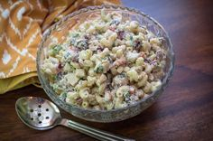 Tastee Recipe Creamy Chicken Macaroni Salad Makes The Picnic Perfect Chicken Macaroni Salad, Creamy Chicken Pasta, Pasta Recipes, Cooking Recipes, Diner Recipes, Salad Recipes, Tastee Recipe, Appetizer Salads, Appetizers