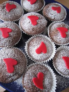 Recepty Archivy - Page 27 of 45 - brydova. Cupcake Cookies, Cupcakes, Sweet Recipes, Muffins, Valentines Day, Cheesecake, Food And Drink, Sweets, Baking