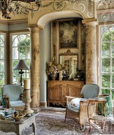 Awesome modern french country decor are readily available on our website. French Country Cottage, French Country Style, Country Living, Country Life, Country Farmhouse, Farmhouse Decor, French Decor, French Country Decorating, Architectural Elements