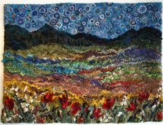 Deanne Fitzpatrick is a renowned rug hooker and teacher of the art.  Her colour choices are inspiring!  http://www.hookingrugs.com Deanne Fitzpatrick - Rug Hooking - Store - Courses - Workshops - Supplies