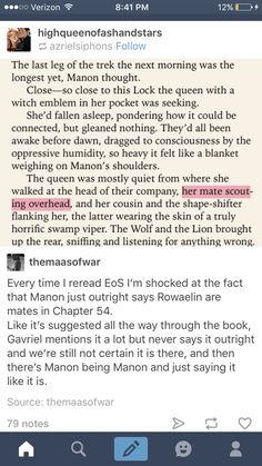 HOW DID I NOT NOTICE THIS BEFORE?!?!?!?! Manon clearly knows what is going on!