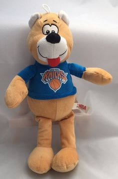 New York Knicks Basketball Stuffed Plush Teddy Bear Mascot 2015 Brown Blue NBA | Sports Mem, Cards & Fan Shop, Fan Apparel & Souvenirs, Basketball-NBA | eBay!