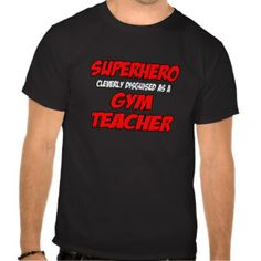 Physical Education T-shirts, Shirts and Custom Physical Education Clothing