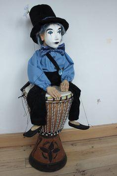marionette Mimo_1 marioneta puppet ooak artdoll títere