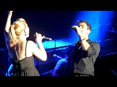Kelly Clarkson f/t Joey McIntyre - Don't You Wanna Stay - Mixtape Festival, Hershey, PA 8/17/12    She's so funny, she acts like all the rest of us blockheads. lol