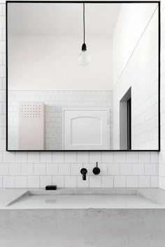 simplistic bathroom